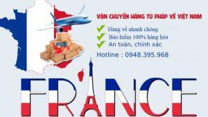Vận Chuyển Hàng Từ Pháp Về Việt Nam